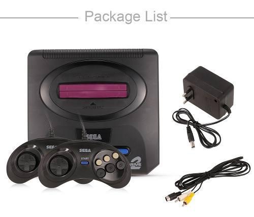 Sega mega drive 2 - consola de videojuegos (16 bits),
