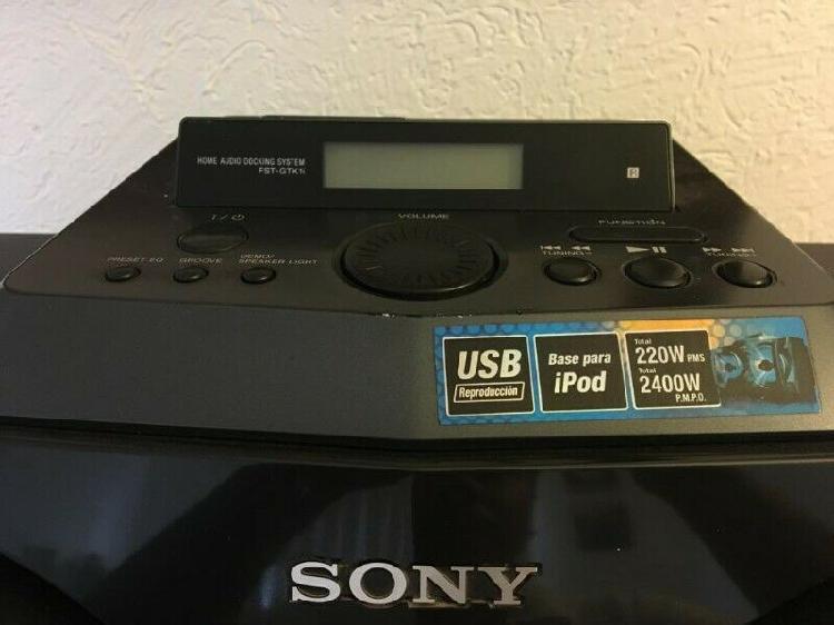 Sistema de audio genesis sony
