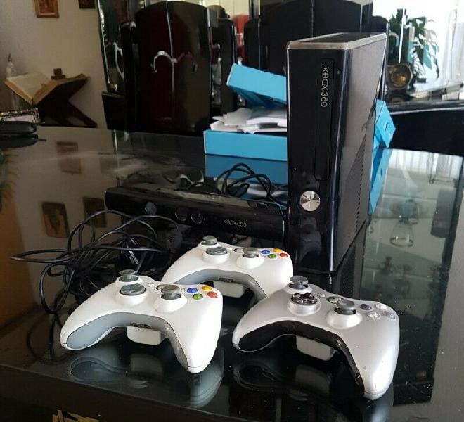 Xbox 360 con kinect y juegos