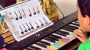 Clases de teclado, violin, piano, clases particulares