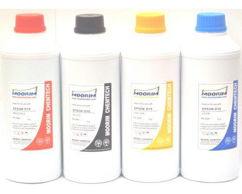 1 litro de tinta marca moorim tipo dye compatible con epson