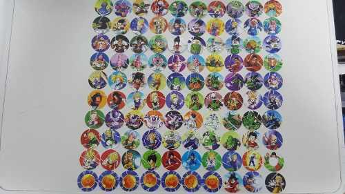 100 tazos sabritas cheetos dragon ball z coleccion completa