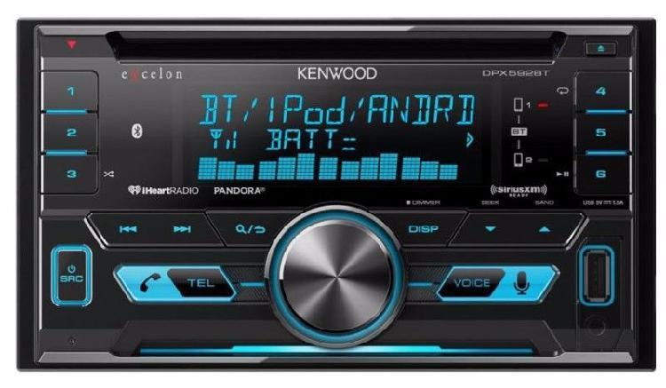 Autoestereo kenwood dpx592bt doble din nuevo con sonido alta