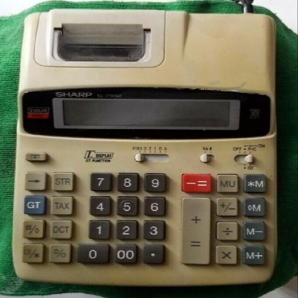Calculadora electronica sharp