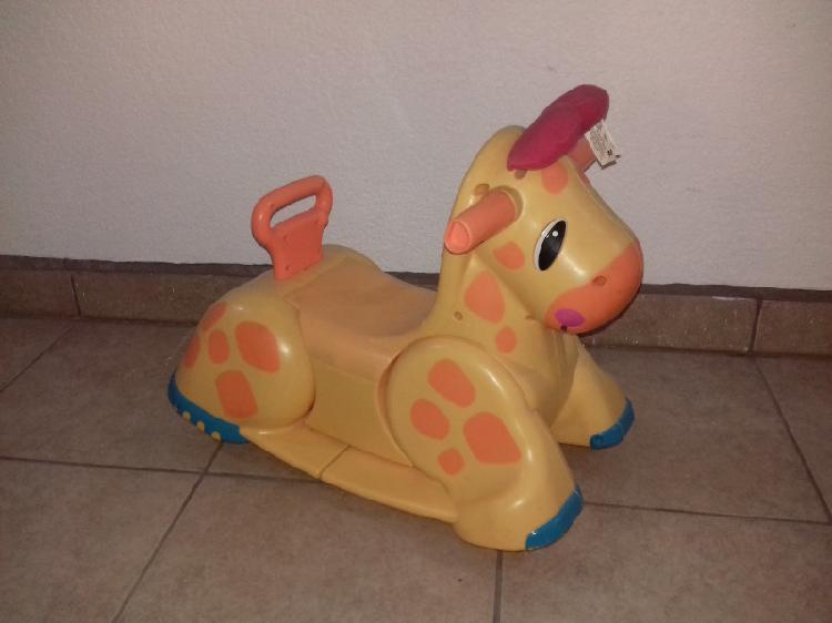 Caballito mecedora jirafa playskool