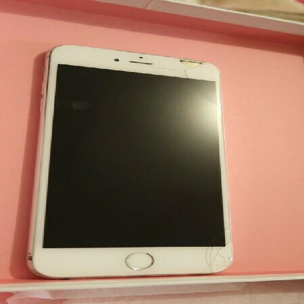 Celular apple iphone 6 plus 16gb pantalla estrellada