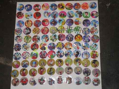 Colección tazos dragon ball super 100 tazos