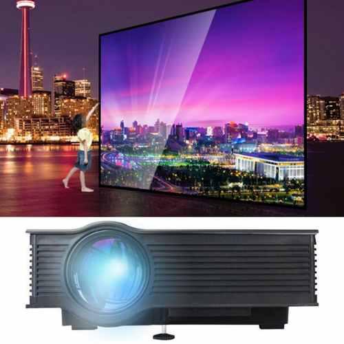 Completo hd 1080p led / lcd 3d de 800 lumens vga hdmi tv cas