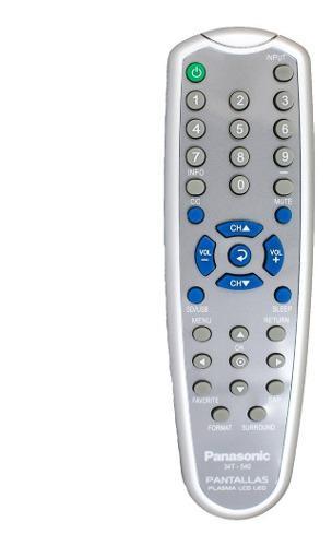Control pantalla panasonic compatible plasma lcd led no