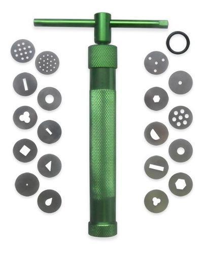 Extrusor c/20 discos fondant arcilla polimerica y reposteria