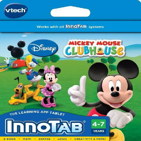 Juego vtech innotab software disney mickey mouse clubhouse