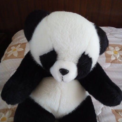 Juego de 3 osos panda de peluche