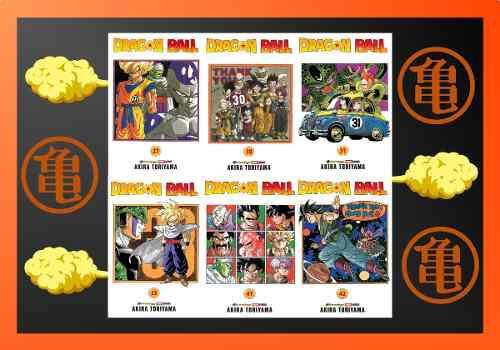 Manga dragon ball tomo 21 al 42 precio x unidad panini
