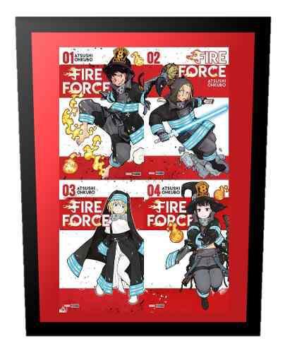 Manga fire force tomo 1 al 7 panini precio x unidad