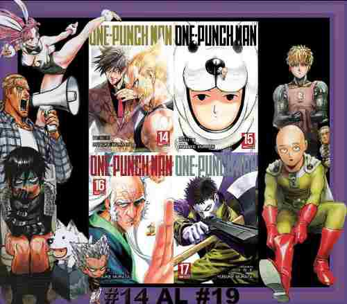 Manga one punch man del #14 en adelante precio x unidad