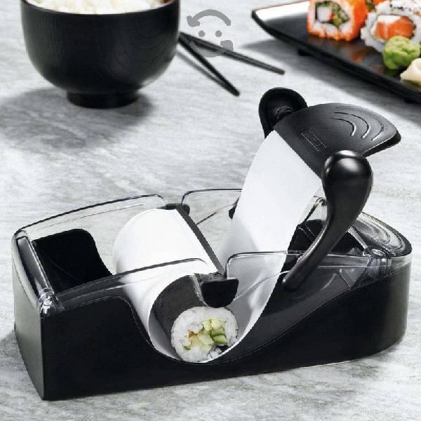Maquina para hacer sushi y enrrollar comida