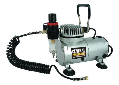 Minicompresor libre de aceite para aerografo 1/6 hp 58 psi