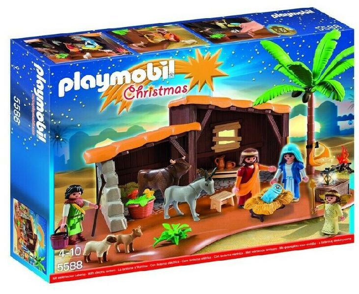 Playmobil navidad belen 5588