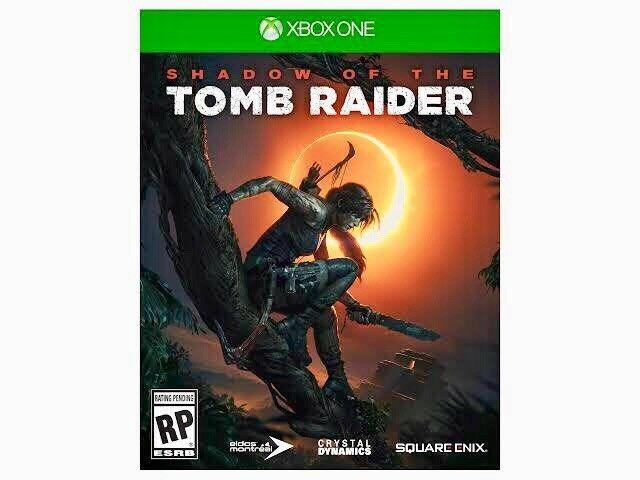 Shadow of the tomb raider para xbox one | 4k ultra hd hdr cd