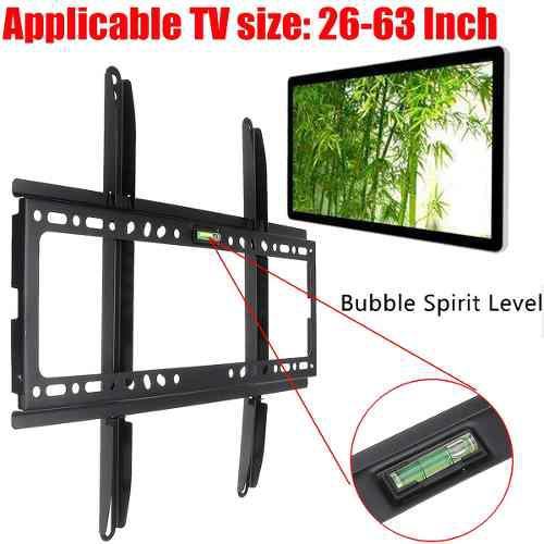 Slim lcd led plasma plano tv soporte de monte pared diy + ni
