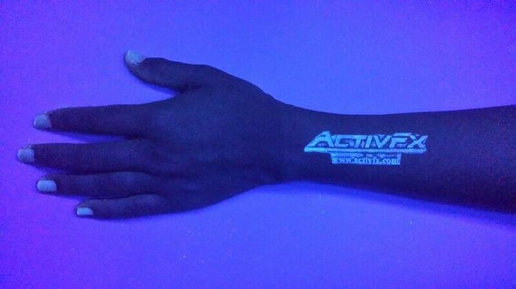 Tinta invisible fluorescente uv para sellos