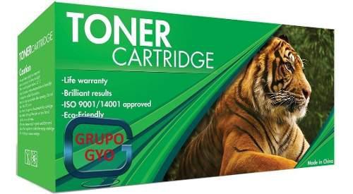 Toner marca tiger compatible 85a 35a 36a rendimiento 2000
