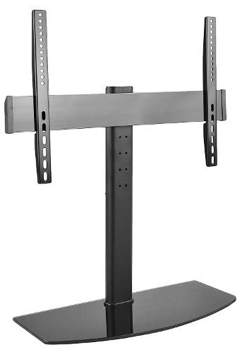 Vivo universal lcd led flat screen tv table top desk stand w