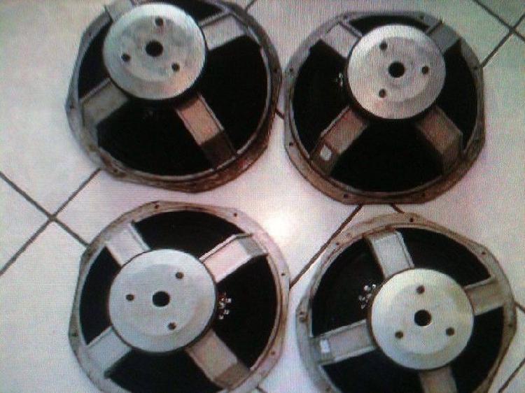 """Peavey bocinas medios 10"""" originales 300 watts"""