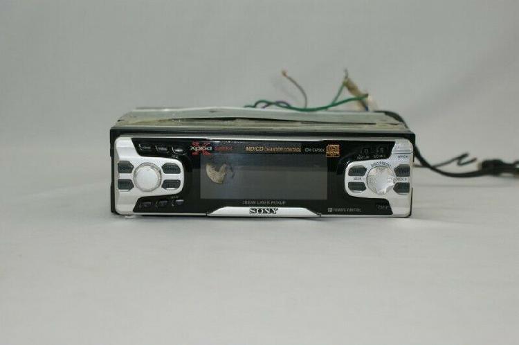 Auto estéreo sony cdx-ca750x (usado)