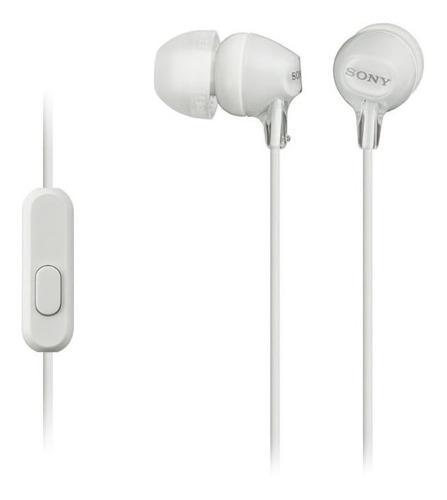 Audífonos Sony Mdr-ex14ap Neodimio Micrófono Integrado