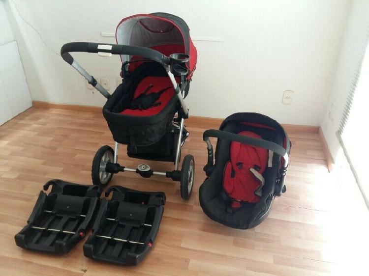 Carreola auto asiento infanti seminueva