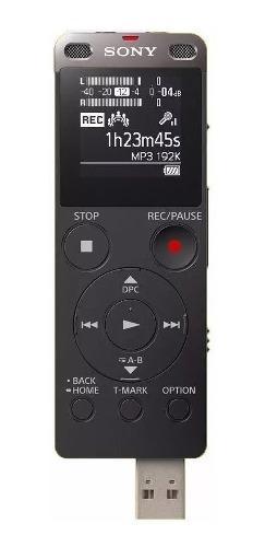Grabadora de voz digital sony icd ux560f usb transcriptor