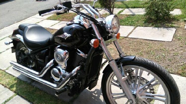 Kawasaki vulcan custom 900 cc año 2012, en excelente estado