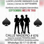 LUXOR LOUVRE SWINGER CLUB Y CUCKOLD CLUB