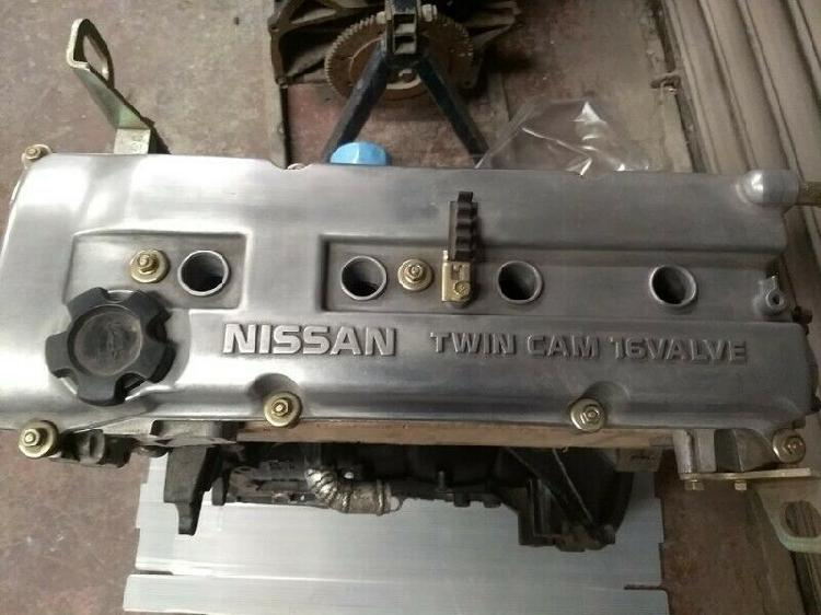 Motores nissan twin cam 16 valvulaas