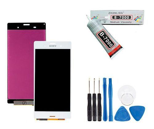 Pantalla Display Sony Xperia Z3 D6603 + Adheisvo Y Kit