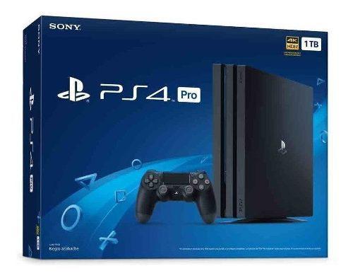 Playstation 4 pro 1tb nuevo en project-games