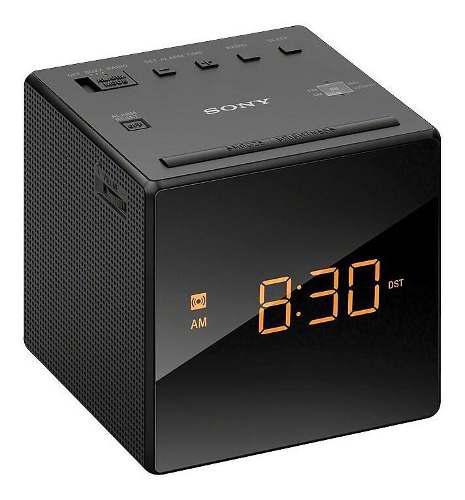 Sony radio despertador modelo sony icf-c1 led lcd fm / am