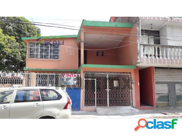 Venta casa 3 recamaras col. chapultepec poza rica veracruz, chapultepec