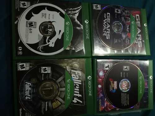 4 juegos xbox one originales semi nuevos