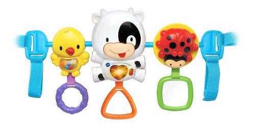 Barra de juguete musical y luces para portabebe vtech