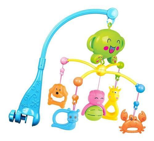 Bebé cuna musical móvil con colgante giratorio lindo anima