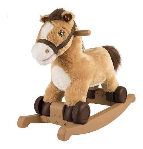 Caballo mecedora para niños caballito de madera ride on msi