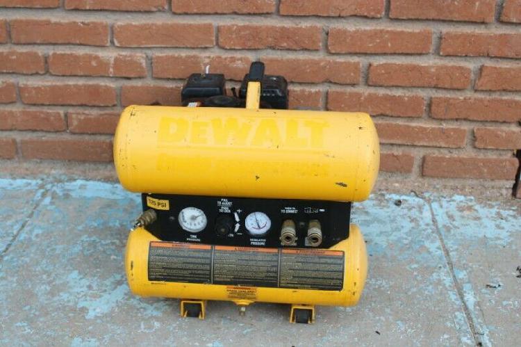 Dewalt compresor 4 galones 4 hp motor gasolina honda
