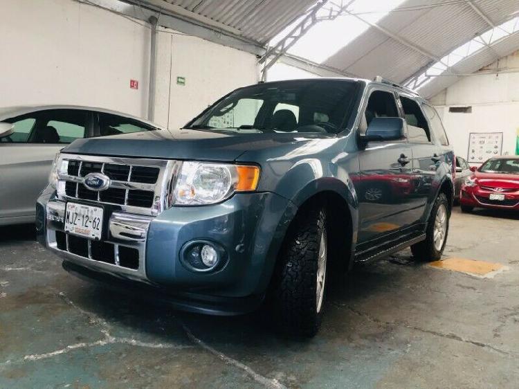 Ford escape limited plus aut piel quemacocos rin camara rev