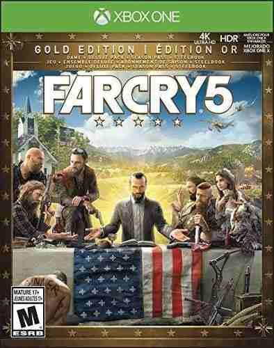 Far cry 5 gold edition, new daw y 3 juego xbox one offline