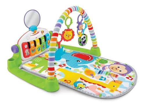 Fisher price deluxe kick pataditas piano gimnasio musical