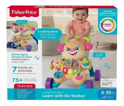 Fisher price laugh & learn puppy y sis walker