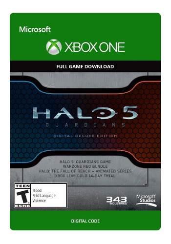 Halo 5 guardians - digital deluxe juegos digitales