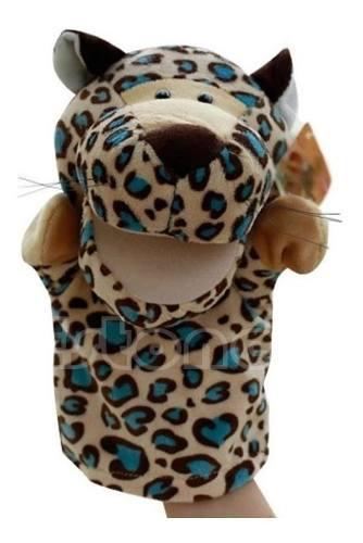 Hermoso divertido peluche titere marioneta animales selva